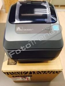 Szybki druk etykiet zapewnia zebra gk420